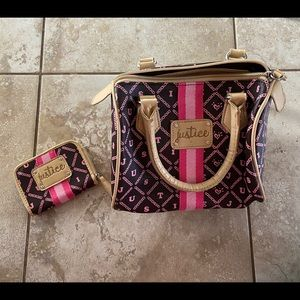 Justice purse and wallet